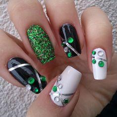 najlepsinoktii  St. Patrick's day #nail #nails #nailart