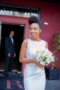 Coiffures de coiffure élégantes pour mariage noir   [post_tags