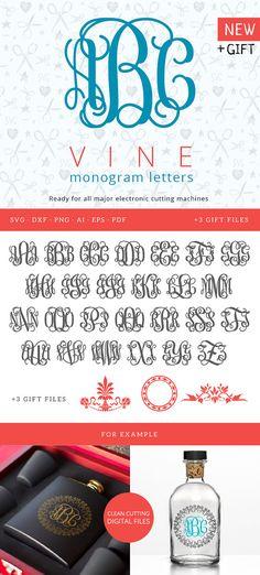Ornate Letter svg, Monogram font SVG, Flourish svg Font, swirls svg Monograms, Silhouette Studio, Wedding Monogram, Cricut Explore machines