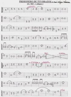 9 Ideas De Partituras Bandurria Partituras Tablaturas Guitarra Laúd