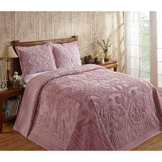 Ashton 100-percent Cotton Chenille Super Soft and Plush Bedspread by Better