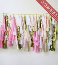 Custom Tassel Photo Backdrop | Gifts Crafting & DIY | Glam Fete | Scoutmob Shoppe | Product Detail