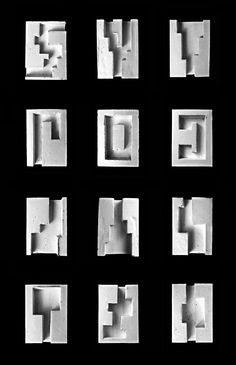 Plaster Study Models