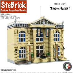 https://flic.kr/p/EJkDk1 | SBD 10004 Egyptian Museum_6 | SBD 10004 Egyptian Museum Made with Lego® Design by Simone Galbiati 4321 Lego® Elements STEBRICK ©2014 Buy Instructions or the real model here: Shop Stebrick or on my Bricklink Store here: BrickLink Store Stebrick Support us on Rebrickable: Stebrick Rebrickable page Support us on Facebook: Facebook page Stebrick Contact: info@stebrick.com Url: www.stebrick.com