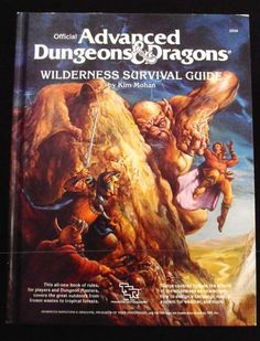 Wilderness Survival Guide Advanced Dungeons and Dragons