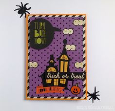 Scraperalimonera: Trick or treat Trick Or Treat, Mad, Scrapbook, Projects, Blog, Halloween Night, Cards, Log Projects, Blue Prints