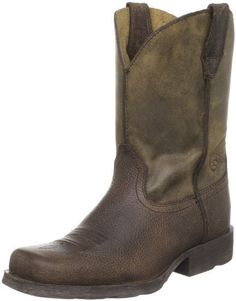 Ariat Rambler Western Boot (Toddler/Little Kid/Big Kid) Ariat. $89.95. Rubber sole. Scoured Duratread outsole. leather. Unlined upper. Exclusive Ariat Booster Bed