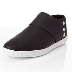 #NewChic - #NewChic Men Casual Leather Button Slip On Business Flat Loafers - AdoreWe.com