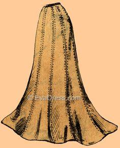 1901 Trumpet Skirt
