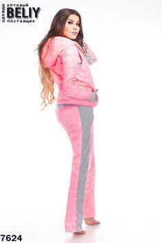 20ccf3d0b92d Женский комплект в стиле casual состоит из жилета, кофты и штанов. Размеры   44, 46, 48, 50. Материал  трикотаж, плащевка. Утеплитель  синтепон.