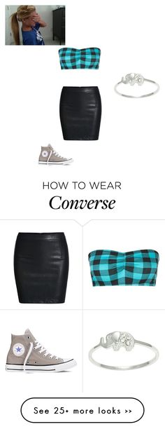 """""""Untitled #353"""" by moonyshoes on Polyvore featuring Converse and Itsy Bitsy"""