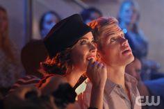 Jessica Stroup as Erin Silver, Trevor Donovan as Teddy on 90210