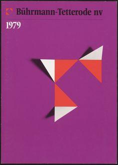 garadinervi:  Ben Bos, Evert Snellenberg, WimVerboven / Collectie NAGO, Bührmann-Tetterode nv, 1979-1981(via)