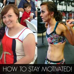 How to stay motivated on your weight loss journey!