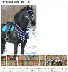 """Via HorseNation.com>> Best of Craigslist: """"Barbie Dream Bridle"""" Edition and other such weird stories."""