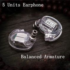 87.60$  Buy now - http://alitts.worldwells.pw/go.php?t=32789823512 - DT86 Earphone 5 Units Balanced Armature Bar Drivers HIFI Customized With Original for Shure SE535 High Quality MMCX Cable 87.60$