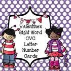 This pack includes workstation cards with a Valentine's Day theme.  The set includes: 12 sets of cards for each vowel 30 Dolch sight words 30 numbe...