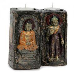 Ecstatic Buddha T-Light Holder for Home decor