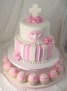 Cake inspiration for baptism cake