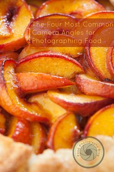 See what the best camera angle is for your food photo with several examples of the most common ones.