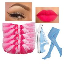 cotton candy or bath loofa by sadsmith on Polyvore featuring polyvore fashion style Hue Converse clothing
