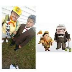 Halloween DIY Costume Idea; Russell and Carl from UP