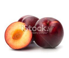 Prune, Fruit, Légume, Rouge, Nature morte Photo libre de droits