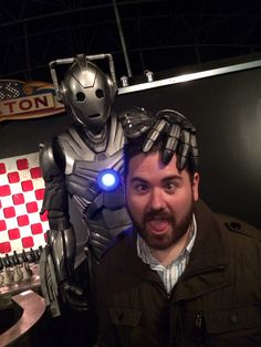 Mind melted by a Cyberman. Might be an improvement!?