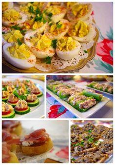 Finger food collage
