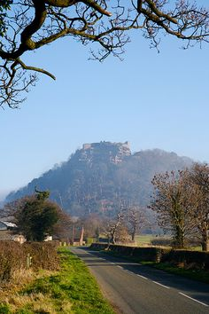 Beeston Castle, Cheshire, UK built in 1220 by Ranulf de Blondeville (love the name)