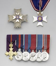 group of seven to Lieutenant Commander M.Eliot, Royal Naval Volunteer Reserve, The Earl of St. Us Military Medals, Military Orders, Operation Red Wings, Military Divisions, British Crown Jewels, War Medals, Lt Commander, Group Of Seven, Royal Crowns
