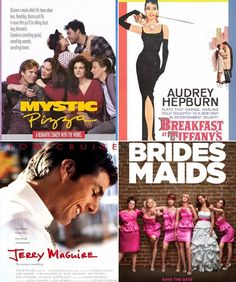 Top 50 list of chick flicks. Some of my absolute favorites are on this list!