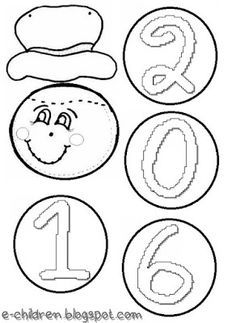 I like the idea of putting numbers in order. Christmas Crafts, Xmas, New Year's Crafts, Class Decoration, Craft Activities, Winter Season, Classroom Decor, Happy New Year, Snowman