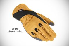 Another winner from the Bike EXIF roundup of motorcycle gloves, this time the $65 @Spidi Summer Leather gloves.