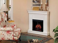 white corner fireplace electric masterDX091jpg Ideas for the