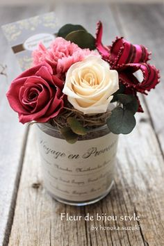 Rose ~ rustic ~ table