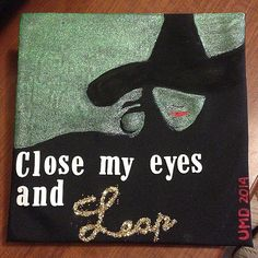 Wicked Inspired Graduation Cap
