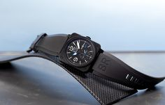 LIMITED EDITION BELL & ROSS BR 03-51 GMT TWG WATCH