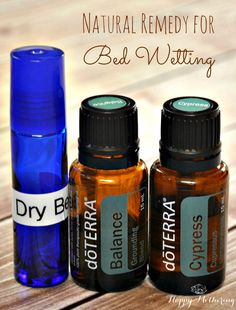 Natural Remedy for Bed Wetting Using Essential Oils #ConquerBedwetting