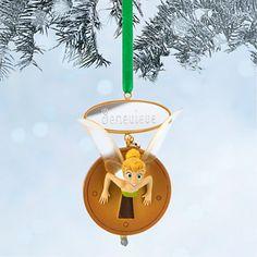 Tinker Bell Sketchbook Ornament - Peter Pan - Personalizable
