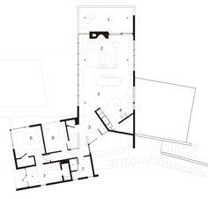 Bluff House,Upper Floor Plan