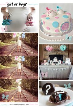 Gender Reveal Party ideas: girl or boy?