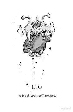 Leo - Shitty Horoscopes Book V: Love Sells by musterni