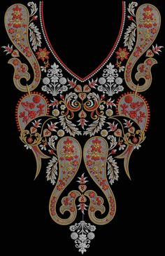 Latest Embroidery Designs For Sale, If U Want Embroidery Designs Plz Contact (Khalid Mahmood, +92-300-9406667) www.embroiderydesignss.blogspot.com Design# Loker18