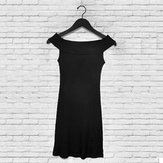 Kendall and Kylie black Off shoulder Dress From Kylie