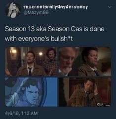 Cas is done with you
