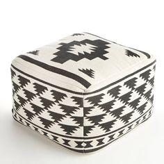 Pouf imprimé Agag. Un objet déco tendance qui trouvera sa place aussi bien au salon que dans une chambre.  Description du pouf imprimé Agag :Enveloppe revêtement 100% coton.Doublure 100% polyester.Forme carrée.Caractéristiques du pouf imprimé Agag :Garniture intérieure en billes de polystyrène.Retrouvez d'autres poufs sur laredoute.frDimensions du pouf imprimé Agag :Largeur : 60 cmHauteur : 40 cmProfondeur : 60 cm