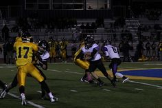 Sequoia RB Marshal Mariucci carries the ball in his team's 14-7 win over Jefferson Friday night.