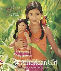 2006 AMERICAN GIRL CATALOG! MEET JESS! RETIRED KIRSTEN!