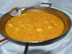 PAELLA DE RAPE Gambitas y sepia. Reserva Online de platos tipicos en EligeTuPlato.es